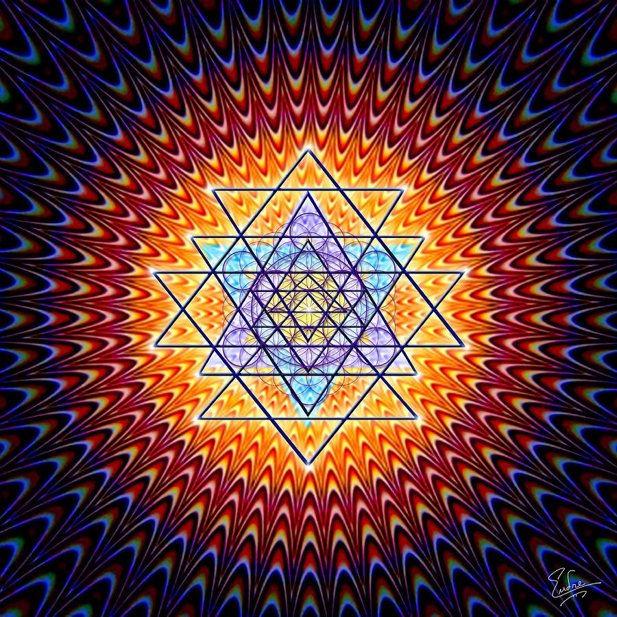 Sacred Geometry Book Holding a Sacred Geometry
